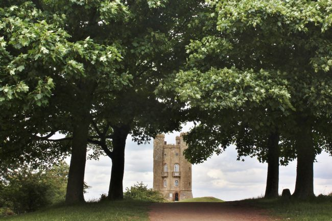 Susan Snow | Walking towards Broadway Tower in the Cotswolds
