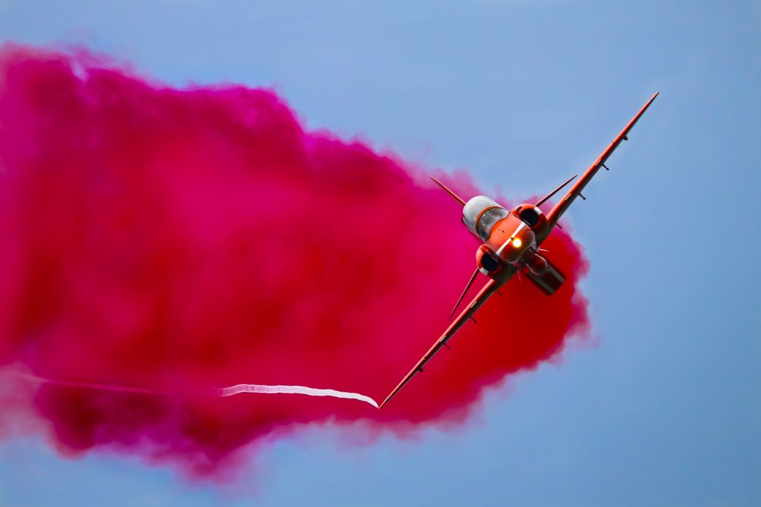 John Bath | Red Arrow Hawk T1A