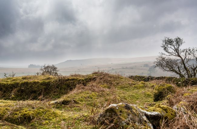 Jean Fry | Dartmoor under a moody sky