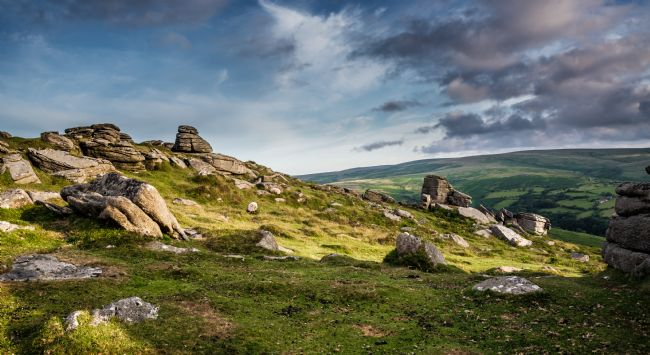 Jean Fry | On Yar Tor - Dartmoor