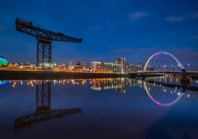 Nigel Forster | Finnieston Bridge Night View