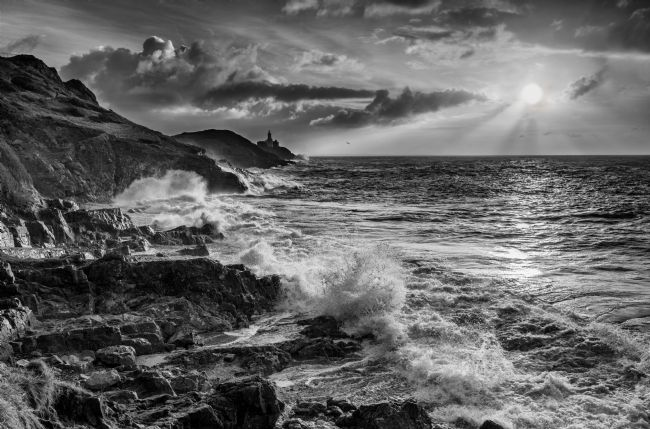 Nigel Forster | Mumbles Lighthouse from Bracelet Bay