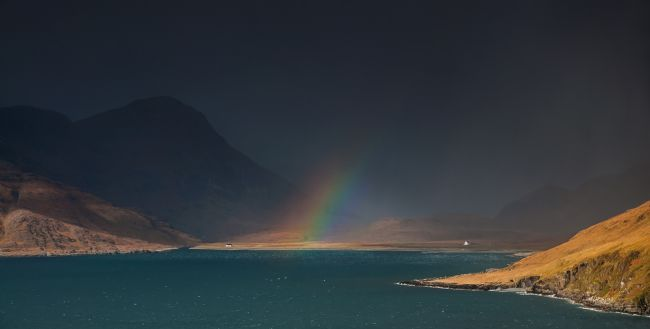 Nigel Forster | Cuillins Rainbow