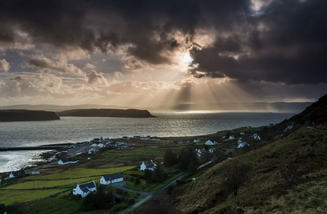Nigel Forster | Uig Harbour View, Isle of Skye
