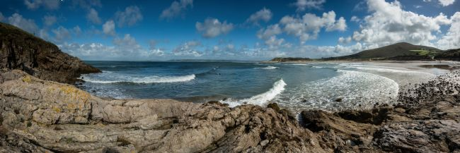 Nigel Forster | Broughton Bay Panorama, Gower