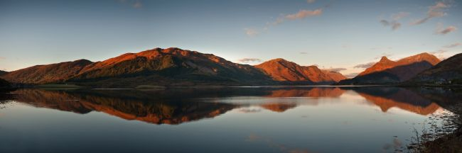 Nigel Forster | Loch Leven reflection