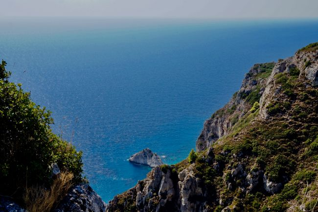 Penny Martin | The cliffs near Palaiokastritsa on the island of Corfu