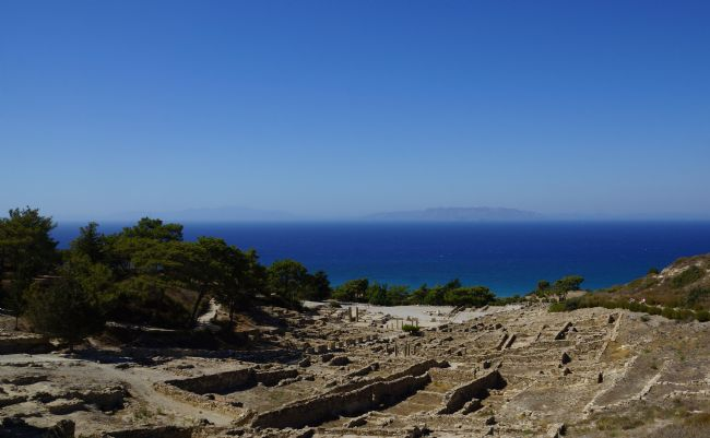 Penny Martin | Kameiros  - an ancient city on the Greek Island of Rhodes