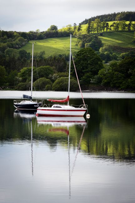 John Stoves | Reflection of Sailing Boats