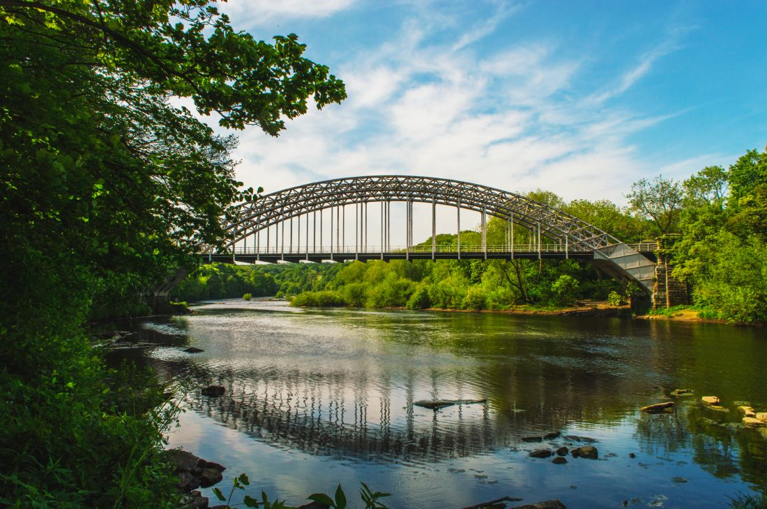 John Ellis | Wylam Railway Bridge