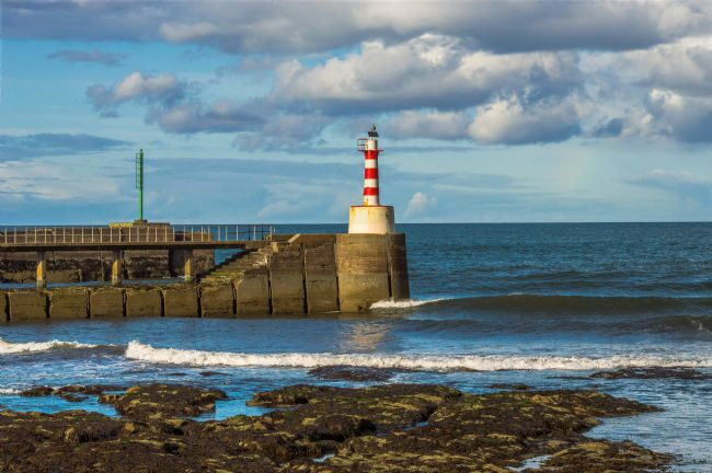 John Ellis | Amble Pier Lighthouse
