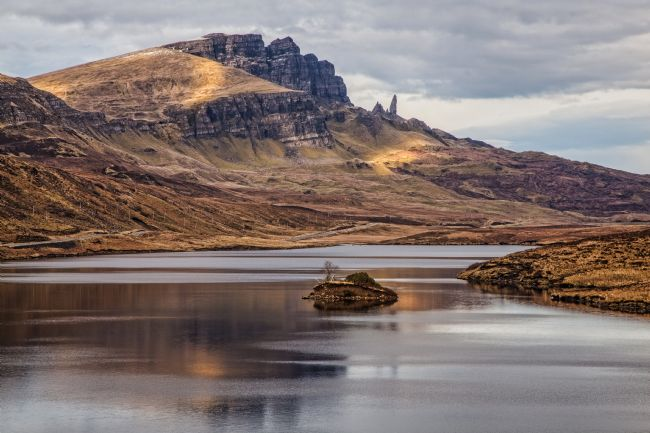 David McHutchison | The Storr from Loch Fada