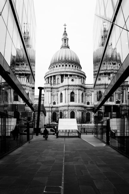 Daniel Davidson | St Paul's Mirrored