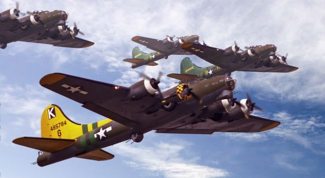 Rob Lester | B17s, Sky Warriors