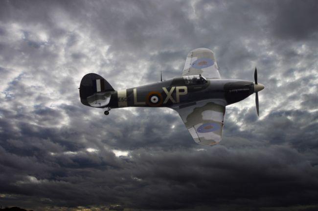Robert Lester | Hawker hurricane