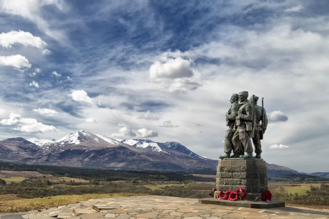 Rob Lester | Spean Bridge_Commando Memorial