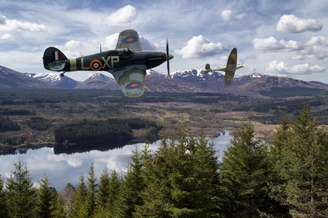 Rob Lester | Hurricane and Spitfire_ Brothers in arms