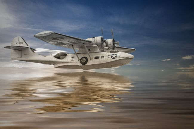 Robert Lester | PBY Catalina Low Pass