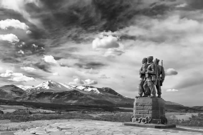 Rob Lester | Commando Memorial at Spean Bridge.