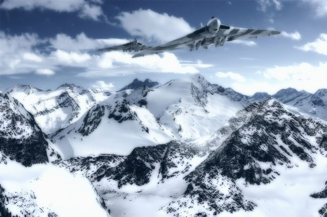 Rob Lester | Avro Vulcans_ Mountain strike
