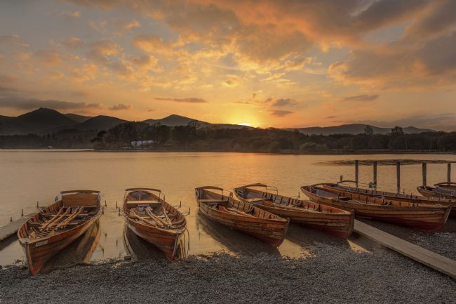 Pete Lawless | Derwent Water Sunset