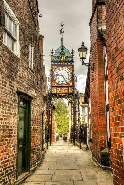 Pete Lawless | Eastgate Clock Chester