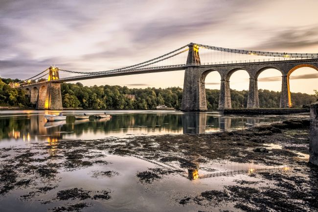 Pete Lawless | Menai Suspension Bridge