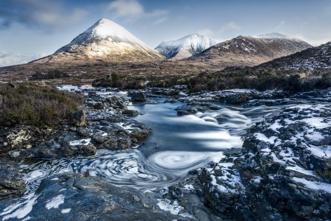 Pete Lawless | Glamaig Isle of Skye winter scene