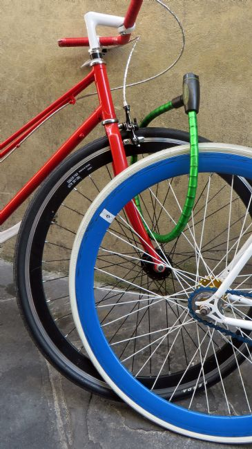 Howard Corlett | Coloured bicycles 2