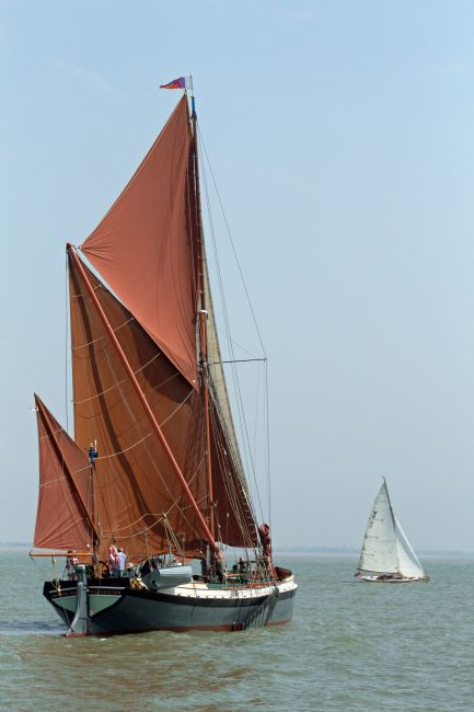 Howard Corlett | Thames barge George Smeed