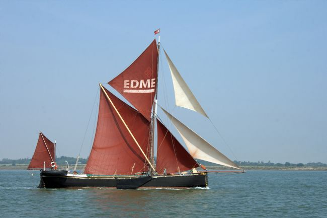 Howard Corlett | Thames Barge Edme