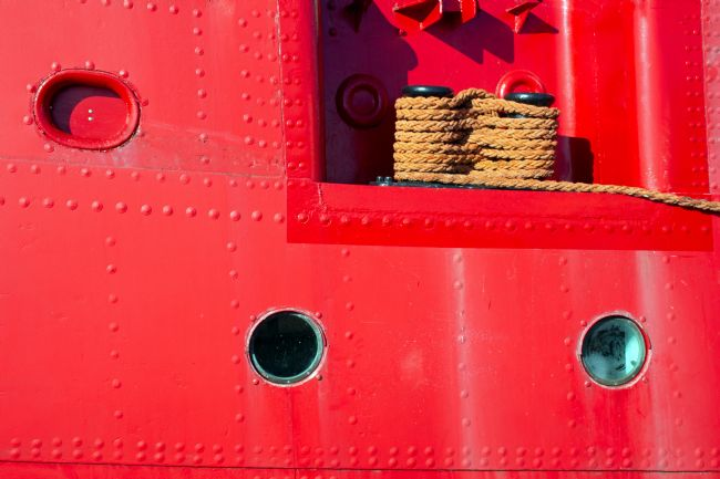 Howard Corlett | Lightship abstract