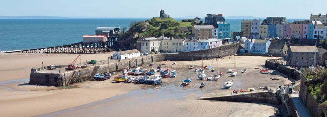 Howard Corlett | Tenby Harbour Panorama