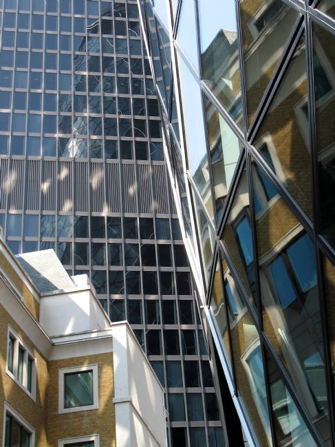 Howard Corlett | Reflected buildings