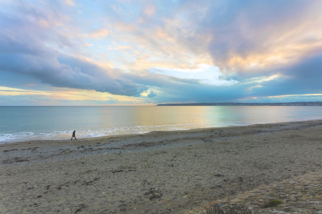 Terri Waters | Sunset Stroll At Mounts Bay