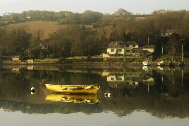 Terri Waters | Mylor Creek in April