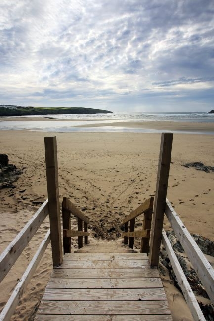 Terri Waters | Lifeguard Steps Crantock