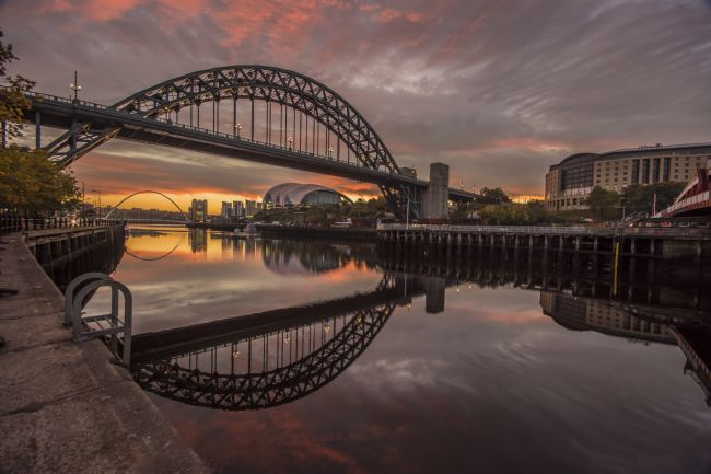 david siggens | Tyne Bridge sunrise