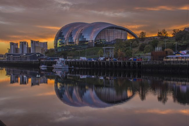 david siggens | Sunrise Gateshead Sage