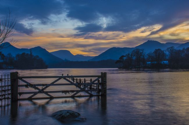 david siggens | Derwent Water keswick sunset
