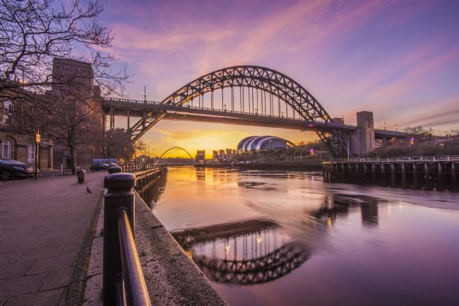 david siggens | Newcastle Quayside Sunrise