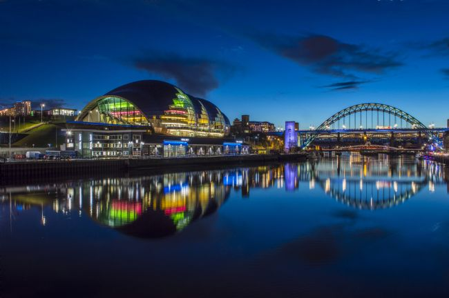 david siggens | Quayside blue hour