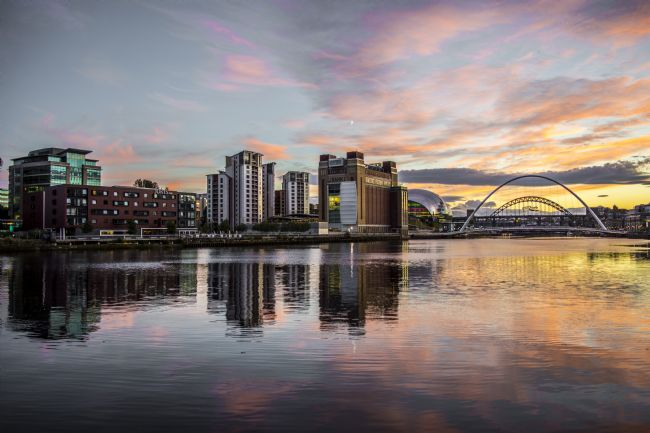 david siggens | Newcastle Quayside sunset