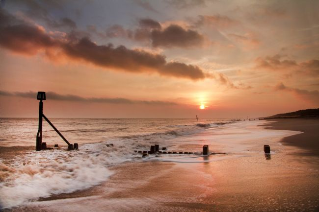 Paul Macro | Cart Gap Sunrise Norfolk