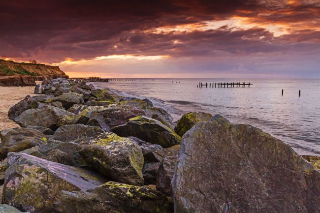 Paul Macro | Happisburgh Sunset