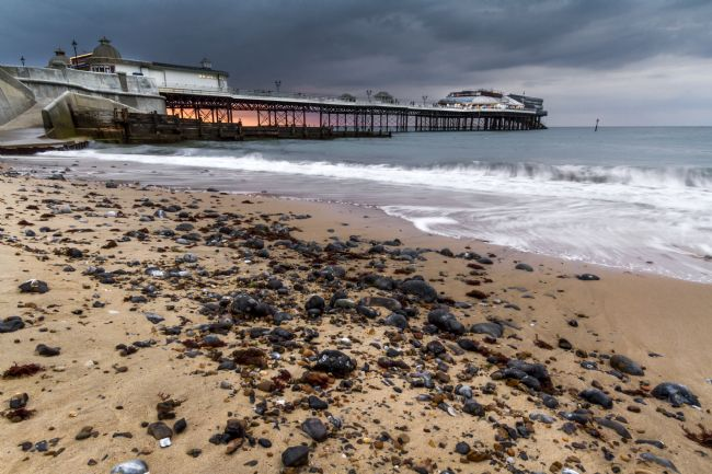 Paul Macro | Cromer Pier Stormy Sunset