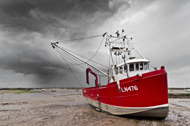 Paul Macro | Fishing Boat at Brancaster Staithe
