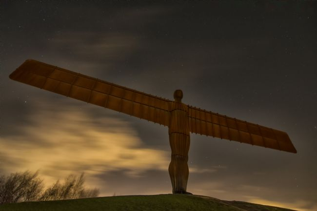 A Blakey | Starlight Angel of the north