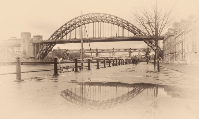 A Blakey | Old Tyne Bridge Style Reflection