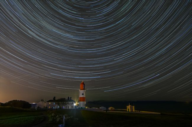 andrew blakey | Stars over Souter Lighthouse